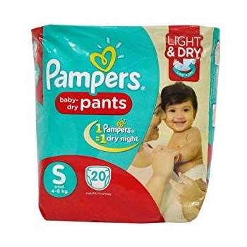Pampers S (4-8 kg)20 Pants