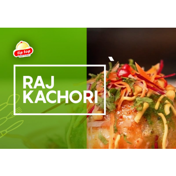 Raj Kachori Chat-1 plate