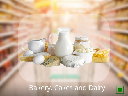 Bakery, Cakes and Dairy