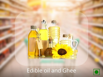 Edible oil and Ghee