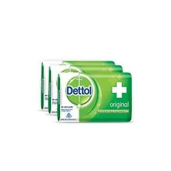 Dettol Soap Org. (125gm x 4)