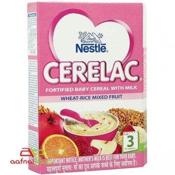 Nestle  Cerelac Wheat – Rice Mixed Fruit S3