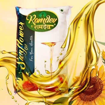 Ramdev sunflow oil - 1ltr
