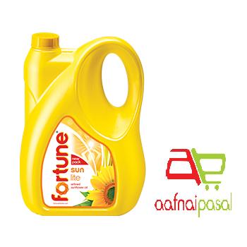 Fortune Sunflower oil 5L.