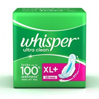 Whisper Ultra Clean 15 Pads (XL)