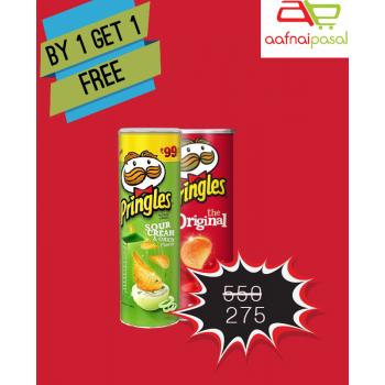 Pringles Buy 1 get 1 offer pack
