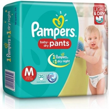 Pampers M(7-12 kg) 20 Pants