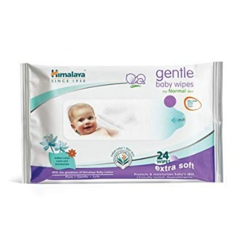 Himalaya Gentle baby wipes (24 wipes)