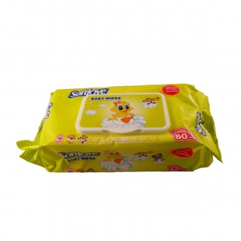 SOFTLOVE BABY WET WIPES 80 PCS SCENTED