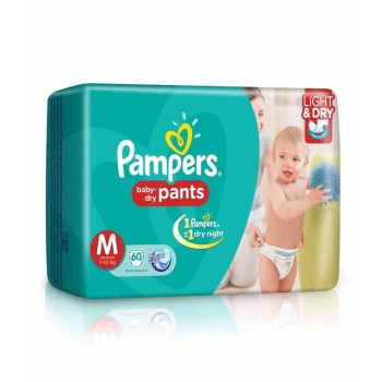 Pampers M(7-12 kg) 56 Pants