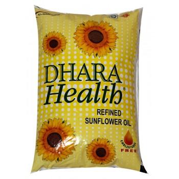Dhara Health Sunflower Oil 1Ltr