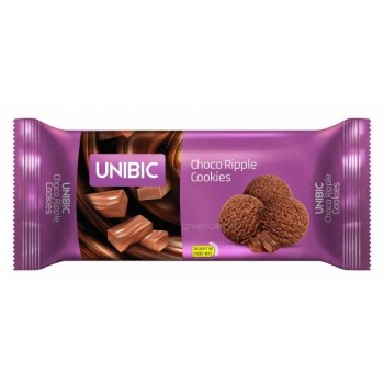 UNIBIC Choco Ripple Cookies biscuit - 36gm