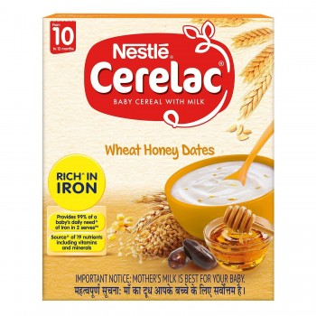 Nestle Cerelac Wheat Honey Dates Stage3 1 pack