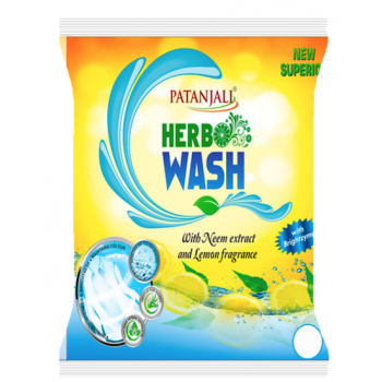 Patanjali Herbo Detergent Powder (Sup) With Neem & Lemon 1kg