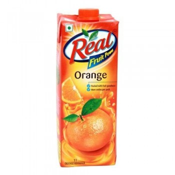 Real Fruit Orange 1 Ltr
