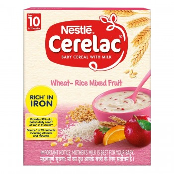 Cerelac Wheat- Rice Mixed Fruits  1pack